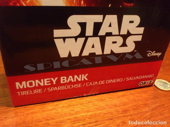 Figuras y Muñecos Star Wars: STAR WARS - HUCHA - MONEY BANK - DARTH VADER - BUSTO - LICENCIA OFICIAL - PRECINTADO - NUEVO - Foto 8 - 105025083