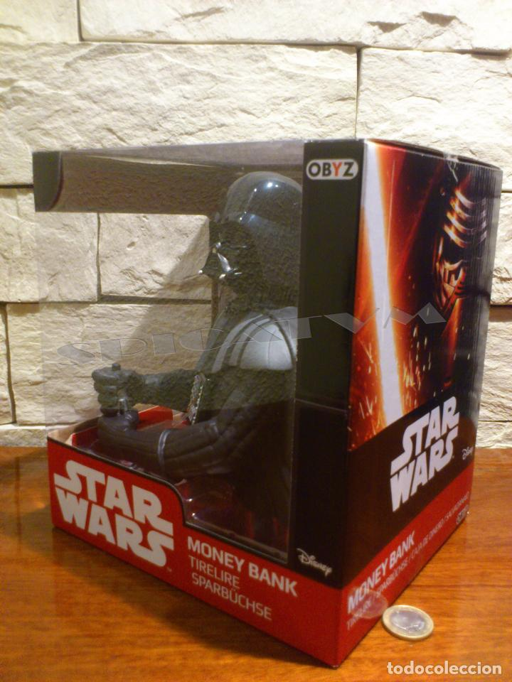 Figuras y Muñecos Star Wars: STAR WARS - HUCHA - MONEY BANK - DARTH VADER - BUSTO - LICENCIA OFICIAL - PRECINTADO - NUEVO - Foto 9 - 105025083
