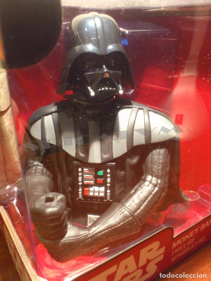 Figuras y Muñecos Star Wars: STAR WARS - HUCHA - MONEY BANK - DARTH VADER - BUSTO - LICENCIA OFICIAL - PRECINTADO - NUEVO - Foto 11 - 105025083