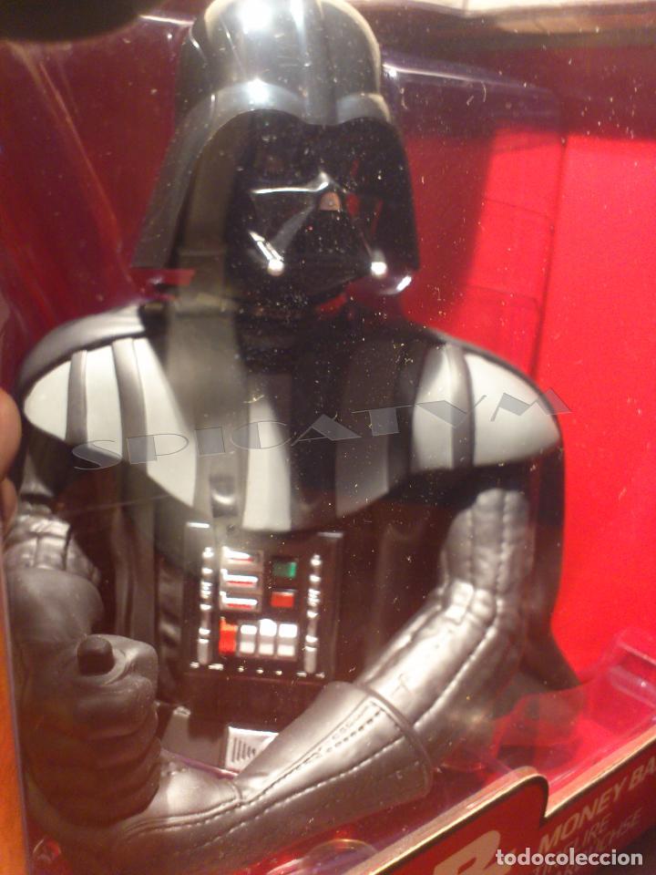 Figuras y Muñecos Star Wars: STAR WARS - HUCHA - MONEY BANK - DARTH VADER - BUSTO - LICENCIA OFICIAL - PRECINTADO - NUEVO - Foto 12 - 105025083
