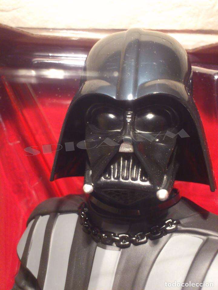 Figuras y Muñecos Star Wars: STAR WARS - HUCHA - MONEY BANK - DARTH VADER - BUSTO - LICENCIA OFICIAL - PRECINTADO - NUEVO - Foto 15 - 105025083