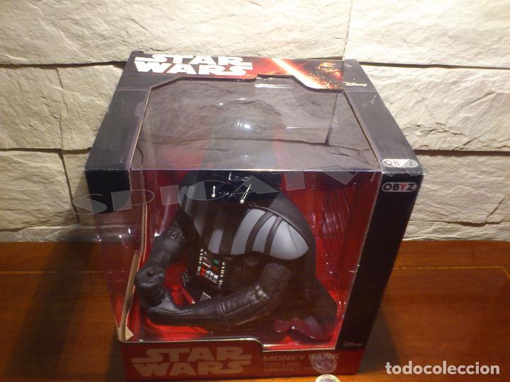 Figuras y Muñecos Star Wars: STAR WARS - HUCHA - MONEY BANK - DARTH VADER - BUSTO - LICENCIA OFICIAL - PRECINTADO - NUEVO - Foto 17 - 105025083