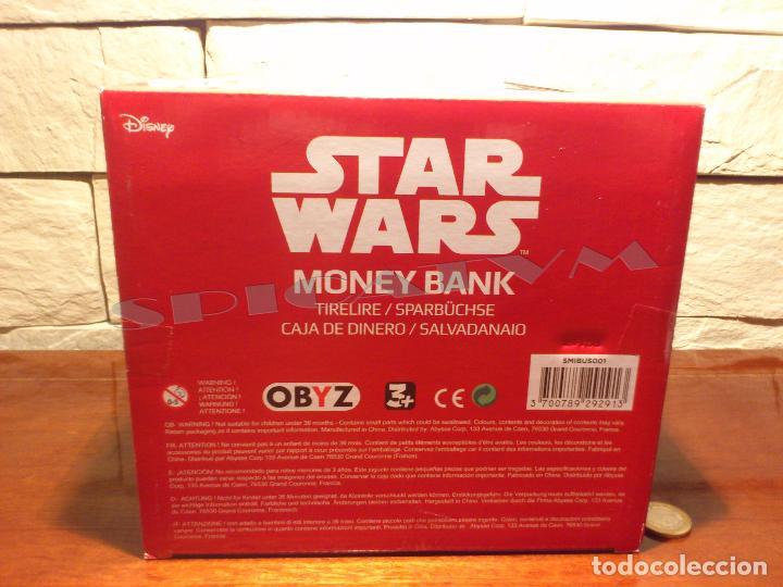 Figuras y Muñecos Star Wars: STAR WARS - HUCHA - MONEY BANK - DARTH VADER - BUSTO - LICENCIA OFICIAL - PRECINTADO - NUEVO - Foto 18 - 105025083