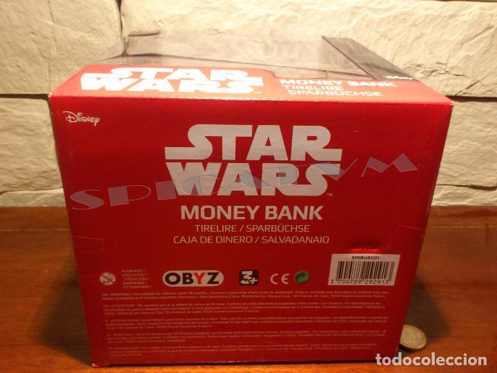 Figuras y Muñecos Star Wars: STAR WARS - HUCHA - MONEY BANK - DARTH VADER - BUSTO - LICENCIA OFICIAL - PRECINTADO - NUEVO - Foto 19 - 105025083