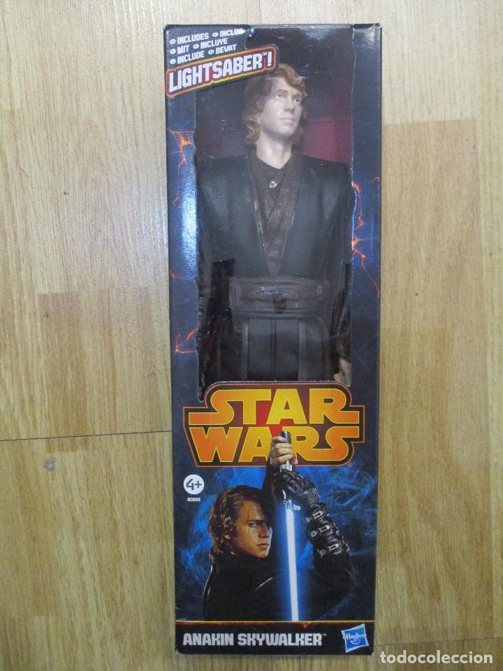 FIGURA ANAKAYN SKYWALKER STAR WARS 30 CM HASBRO NUEVA SIN ABRIR (Juguetes - Figuras de Acción - Star Wars)