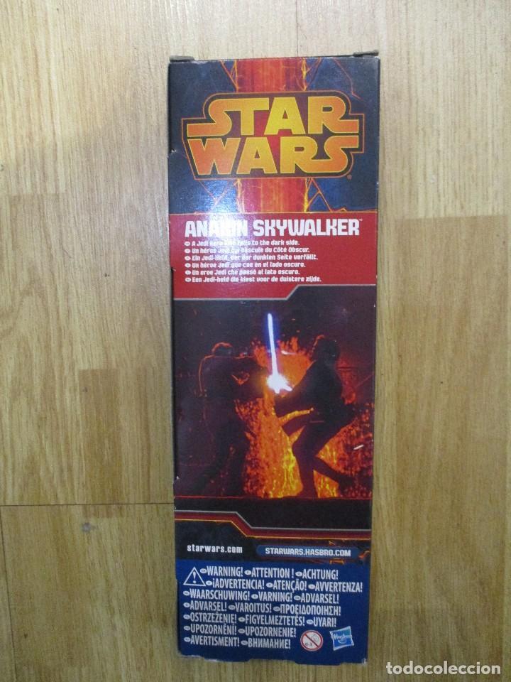 Figuras y Muñecos Star Wars: FIGURA ANAKAYN SKYWALKER STAR WARS 30 CM HASBRO NUEVA SIN ABRIR - Foto 2 - 105276459