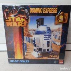 Figuras y Muñecos Star Wars: CAJA STAR WARS R2 D2 DEALER DOMINO EXPRESS PRECINTADA. AÑO 2013.. Lote 105335327