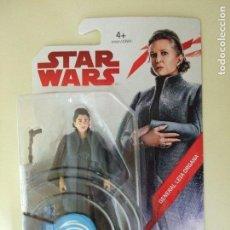Figuras y Muñecos Star Wars: FIGURA GENERAL LEIA ORGANA - STAR WARS LOS ÚLTIMOS JEDI THE LAST JEDI DISNEY HASBRO PRINCESA 3,75. Lote 106611271