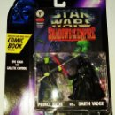 Figuras y Muñecos Star Wars: STAR WARS # COMIC PACK - PRINCE XIZOR Y DARTH VADER # SHADOWS OF THE EMPIRE - NUEVO DE KENNER.. Lote 105364935
