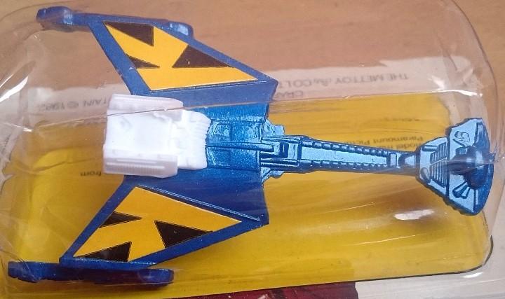 Figuras y Muñecos Star Wars: 1982 CORGI JUNIOR 149 STAR TREK II KLINGON WARSHIP - Foto 3 - 105298259