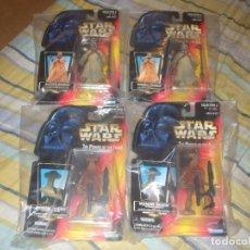 Figuras y Muñecos Star Wars - POFT NARANJA 4 BLISTER SIN ABRIR - 105690487