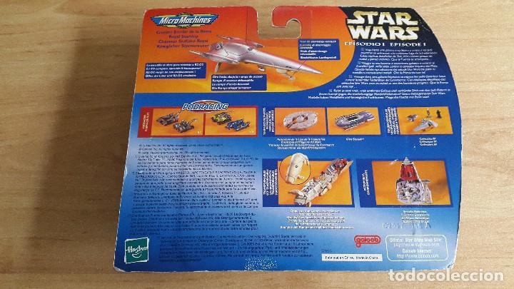 Figuras y Muñecos Star Wars: star wars micromachines (nave espacial) crucero estela de la reina - episode I -- nuevo con blister - Foto 2 - 105715847