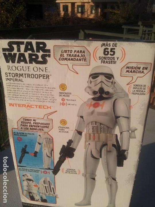 Figuras y Muñecos Star Wars: Star wars snowtrooper imperial interactech disney nuevo - Foto 2 - 105768511