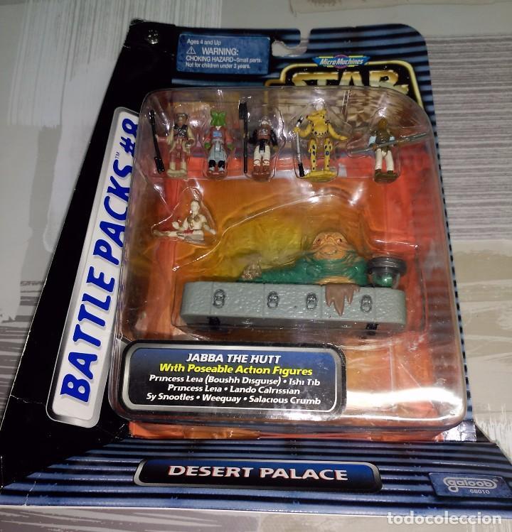 MICROMACHINES - STAR WARS BATTLE PACK Nº 8 - DESERT PALACE - MICRO MACHINES (Juguetes - Figuras de Acción - Star Wars)