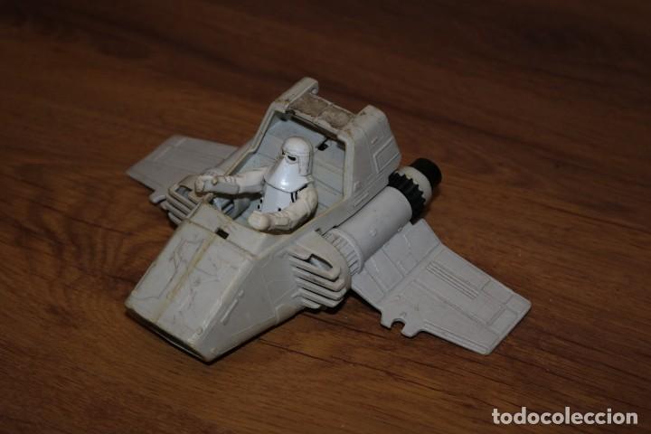 STAR WARS NAVE VEHÍCULO ISP-6 IMPERIAL SHUTTLE POD KENNER LUCASFILM VINTAGE 1983 MACAO (Juguetes - Figuras de Acción - Star Wars)