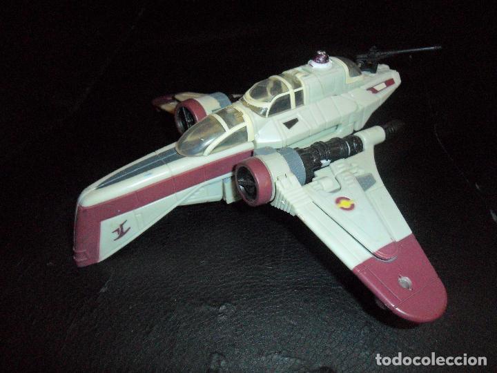 NAVE ARC-170 - STAR WARS CLON WARS - FIGURA TRANSFORMER (Juguetes - Figuras de Acción - Star Wars)