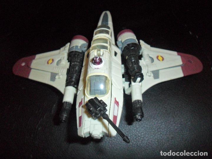 Figuras y Muñecos Star Wars: NAVE ARC-170 - STAR WARS CLON WARS - FIGURA TRANSFORMER - Foto 2 - 106238651