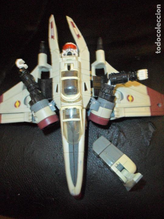 Figuras y Muñecos Star Wars: NAVE ARC-170 - STAR WARS CLON WARS - FIGURA TRANSFORMER - Foto 3 - 106238651