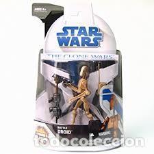 STAR WARS - BATTLE DROID THE CLONE WARS .- (Juguetes - Figuras de Acción - Star Wars)