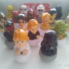 Figuras y Muñecos Star Wars: COLECCIÓN COMPLETA 20 ROLLINZ STAR WARS DE FIGURAS CARREFOUR. Lote 143006886