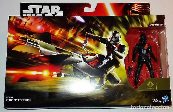 STAR WARS # ELITE SPEEDER BIKE # THE FORCE AWAKENS - NUEVO EN SU BLISTER ORIGINAL DE HASBRO. (Juguetes - Figuras de Acción - Star Wars)