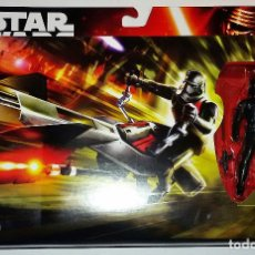 Figuras y Muñecos Star Wars: STAR WARS # ELITE SPEEDER BIKE # THE FORCE AWAKENS - NUEVO EN SU BLISTER ORIGINAL DE HASBRO.. Lote 142794656