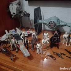 Figuras y Muñecos Star Wars: STAR WARS 15 FIGURAS Y 4 VEHICULOS KENNER POTF. Lote 107458515