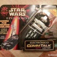 Figuras y Muñecos Star Wars: LECTOR ELECTRÓNICO COMM TALK STAR WARS EPISODIO I - HASBRO, 1999 - NUEVO A ESTRENAR SIN ABRIR. Lote 107856076