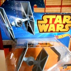 Figuras y Muñecos Star Wars: MINIATURA TIE FIGHTER IMPERIAL (STAR WARS) HOT WHEELS. Lote 108092159