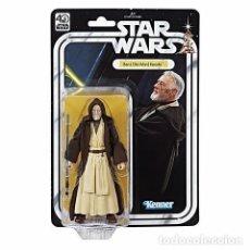 Figuras y Muñecos Star Wars: FIGURA OBI WAN KENOBI 40 ANIVERSARIO STAR WARS NUEVO BLISTER REPRODUCCION DE ORIGINAL KENNER. Lote 110475970