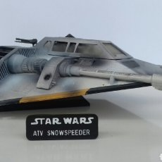 Figure e Bambolotti Star Wars: MAQUETA STAR WARS SNOWSPEEDER DE MPC/ERLT (ESB). Lote 107048082