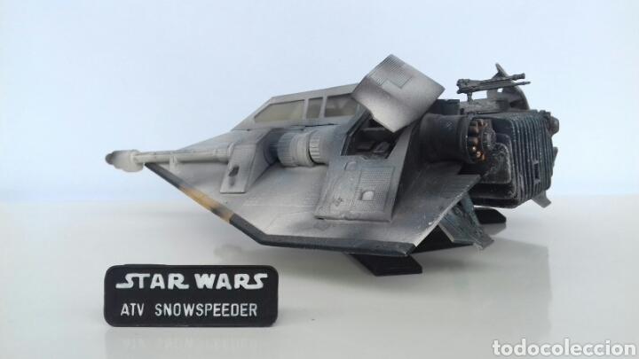 Figuras y Muñecos Star Wars: Maqueta Star Wars Snowspeeder de MPC/ERLT (ESB) - Foto 5 - 107048082