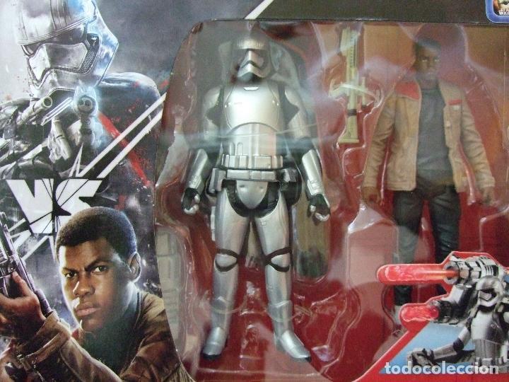 Star Wars Rogue one capitán phasma vs Finn Jakku Hasbro disney a partir de 4 años nuevo