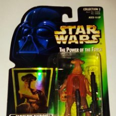 Figure e Bambolotti Star Wars: STAR WARS # MOMAW NADON # THE POWER OF THE FORCE - NUEVO EN SU BLISTER ORIGINAL DE KENNER.. Lote 110039239
