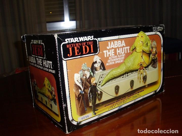 JABBA THE HUTT VINTAGE STAR WARS STARWARS CAJA COMPLETO 1983 RETORNO DEL JEDI (Juguetes - Figuras de Acción - Star Wars)