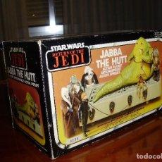 Figuras y Muñecos Star Wars: JABBA THE HUTT VINTAGE STAR WARS STARWARS CAJA COMPLETO 1983 RETORNO DEL JEDI. Lote 110070783