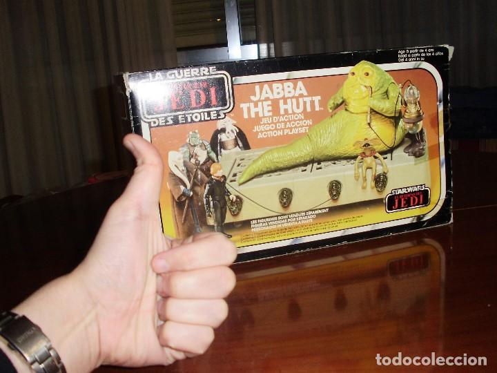 Figuras y Muñecos Star Wars: JABBA THE HUTT VINTAGE STAR WARS STARWARS CAJA COMPLETO 1983 RETORNO DEL JEDI - Foto 6 - 110070783