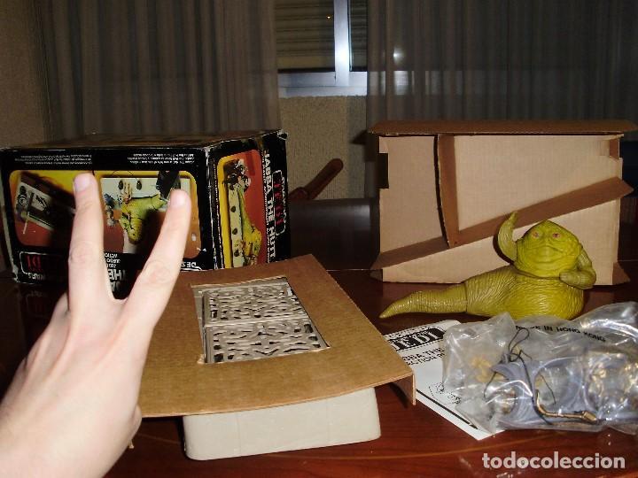 Figuras y Muñecos Star Wars: JABBA THE HUTT VINTAGE STAR WARS STARWARS CAJA COMPLETO 1983 RETORNO DEL JEDI - Foto 9 - 110070783