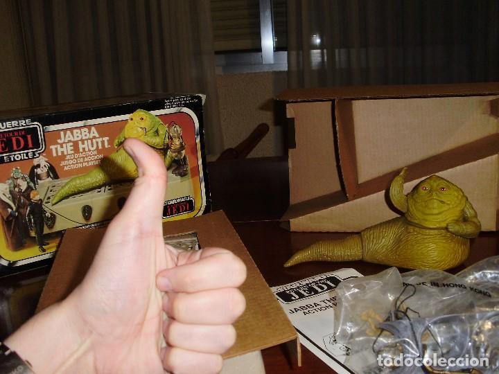 Figuras y Muñecos Star Wars: JABBA THE HUTT VINTAGE STAR WARS STARWARS CAJA COMPLETO 1983 RETORNO DEL JEDI - Foto 10 - 110070783