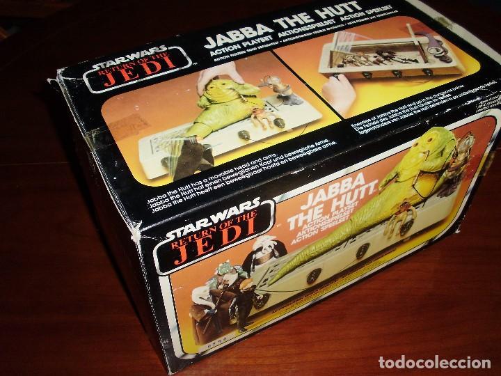 Figuras y Muñecos Star Wars: JABBA THE HUTT VINTAGE STAR WARS STARWARS CAJA COMPLETO 1983 RETORNO DEL JEDI - Foto 14 - 110070783