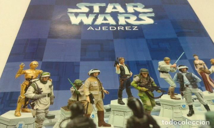 AJEDREZ STAR WARS. ART TREASURES. PIEZA ÚNICA Y EXTRAORDINARIA. GUERRA DE LAS GALAXIAS. PLANETA. (Juguetes - Figuras de Acción - Star Wars)