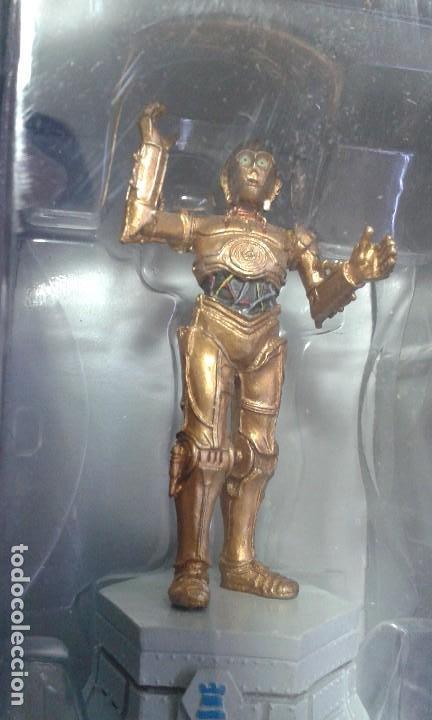 Figuras y Muñecos Star Wars: Ajedrez Star Wars. Art Treasures. Pieza única y extraordinaria. Guerra de las Galaxias. Planeta. - Foto 6 - 110230555