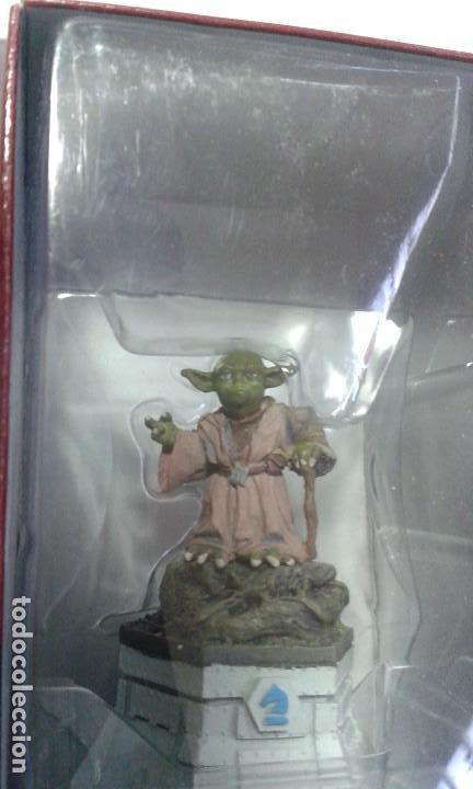 Figuras y Muñecos Star Wars: Ajedrez Star Wars. Art Treasures. Pieza única y extraordinaria. Guerra de las Galaxias. Planeta. - Foto 39 - 110230555