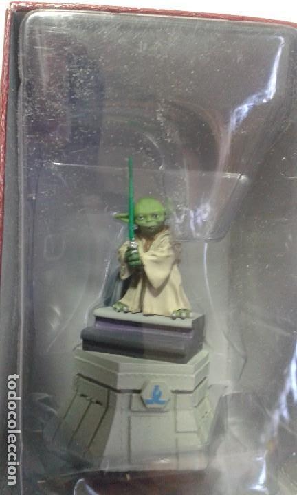 Figuras y Muñecos Star Wars: Ajedrez Star Wars. Art Treasures. Pieza única y extraordinaria. Guerra de las Galaxias. Planeta. - Foto 45 - 110230555