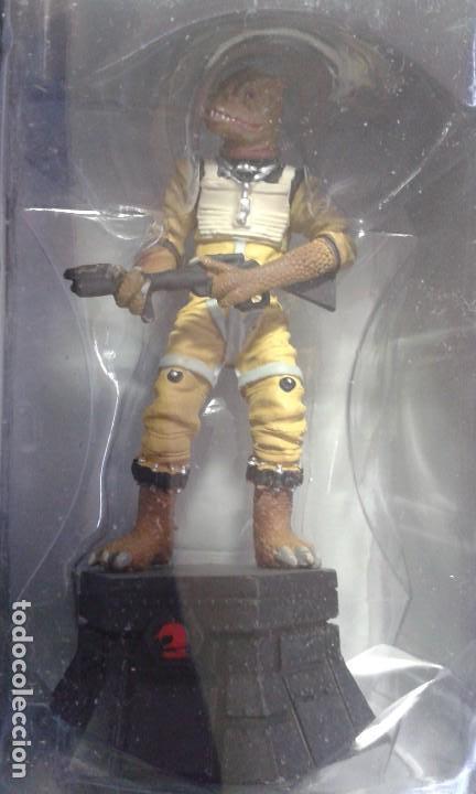 Figuras y Muñecos Star Wars: Ajedrez Star Wars. Art Treasures. Pieza única y extraordinaria. Guerra de las Galaxias. Planeta. - Foto 46 - 110230555
