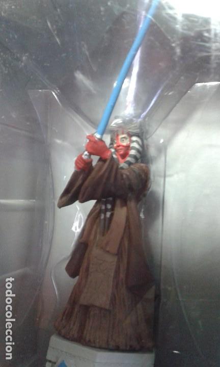 Figuras y Muñecos Star Wars: Ajedrez Star Wars. Art Treasures. Pieza única y extraordinaria. Guerra de las Galaxias. Planeta. - Foto 56 - 110230555