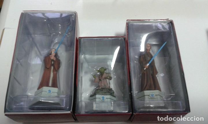 Figuras y Muñecos Star Wars: Ajedrez Star Wars. Art Treasures. Pieza única y extraordinaria. Guerra de las Galaxias. Planeta. - Foto 66 - 110230555