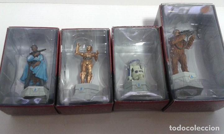 Figuras y Muñecos Star Wars: Ajedrez Star Wars. Art Treasures. Pieza única y extraordinaria. Guerra de las Galaxias. Planeta. - Foto 68 - 110230555