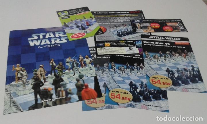 Figuras y Muñecos Star Wars: Ajedrez Star Wars. Art Treasures. Pieza única y extraordinaria. Guerra de las Galaxias. Planeta. - Foto 93 - 110230555