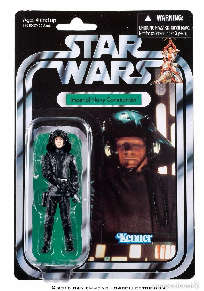 STAR WARS - IMPERIAL NAVY COMMANDER - HASBRO (Juguetes - Figuras de Acción - Star Wars)